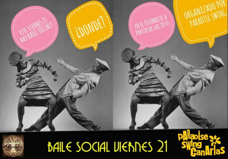 Baile Social en El Escondite