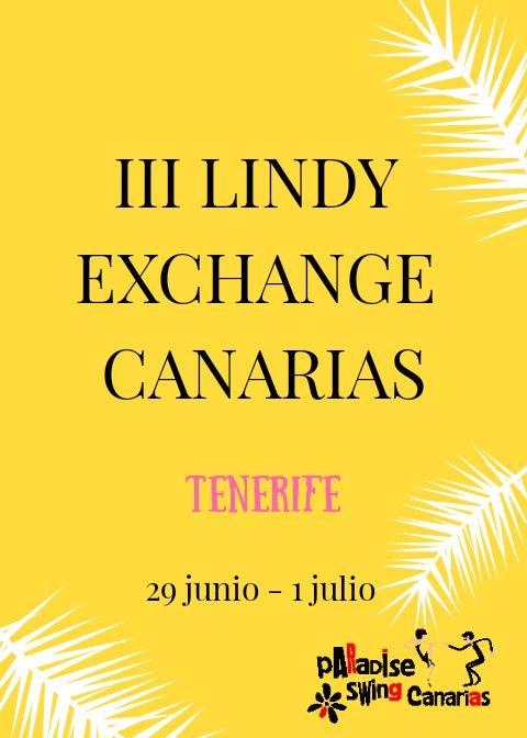 III Lindy Exchange Canarias