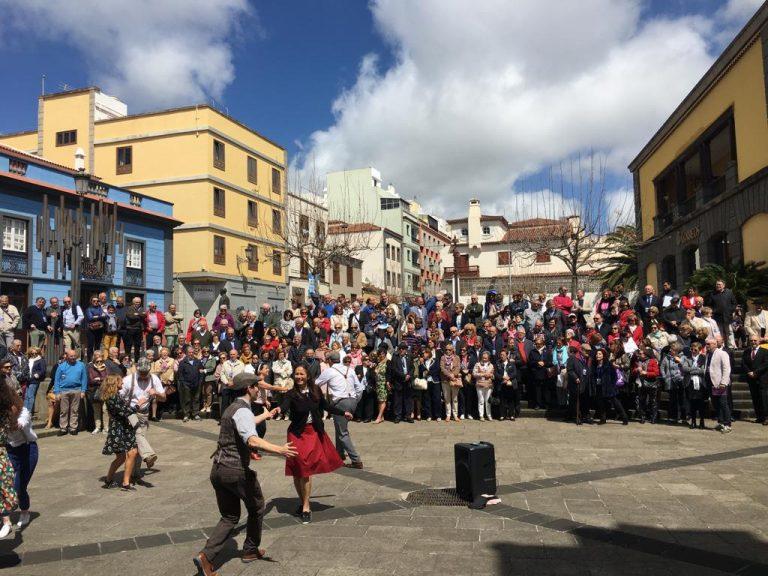 Actividad AMTT Asociación de Mayores de Telefónica Tenerife.